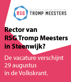 Rector van RSG Tromp Meesters in Steenwijk